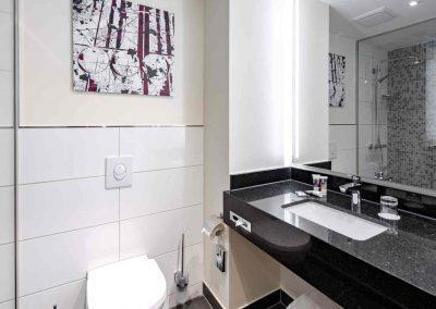 Mercure Hotel Kamen Unna Privilege Zimmer Bad Waschtisch